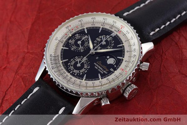 Used luxury watch Breitling Montbrillant chronograph steel automatic Kal. B19 ETA 2892-2 Ref. A19030  | 160432 01