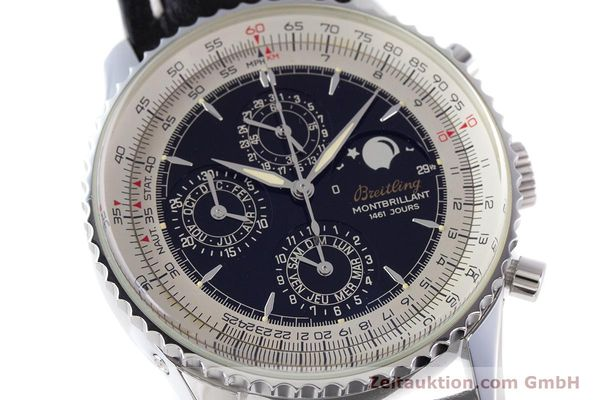 Used luxury watch Breitling Montbrillant chronograph steel automatic Kal. B19 ETA 2892-2 Ref. A19030  | 160432 02