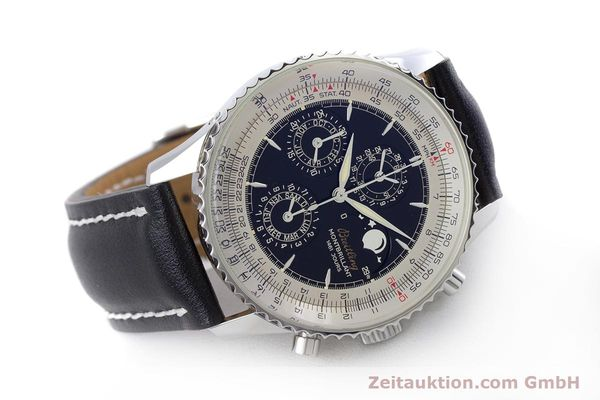 Used luxury watch Breitling Montbrillant chronograph steel automatic Kal. B19 ETA 2892-2 Ref. A19030  | 160432 03