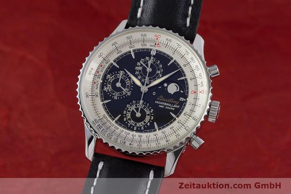 Used luxury watch Breitling Montbrillant chronograph steel automatic Kal. B19 ETA 2892-2 Ref. A19030  | 160432 04