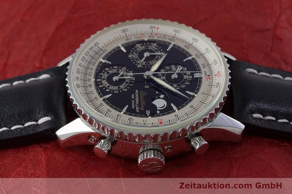 Used luxury watch Breitling Montbrillant chronograph steel automatic Kal. B19 ETA 2892-2 Ref. A19030  | 160432 05
