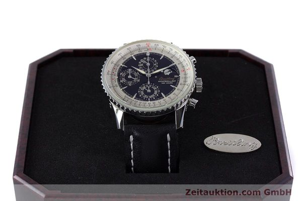 Used luxury watch Breitling Montbrillant chronograph steel automatic Kal. B19 ETA 2892-2 Ref. A19030  | 160432 07