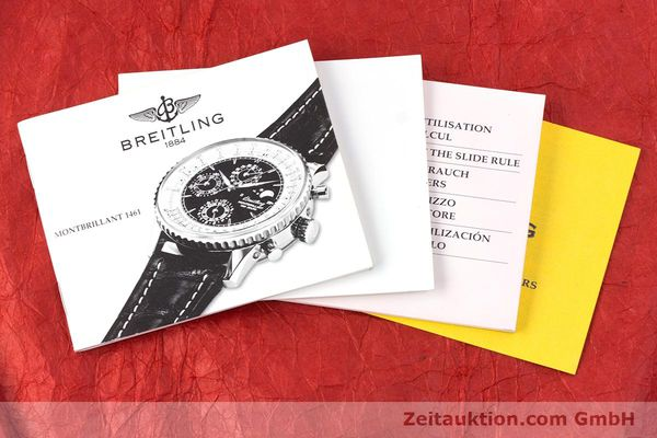 Used luxury watch Breitling Montbrillant chronograph steel automatic Kal. B19 ETA 2892-2 Ref. A19030  | 160432 11