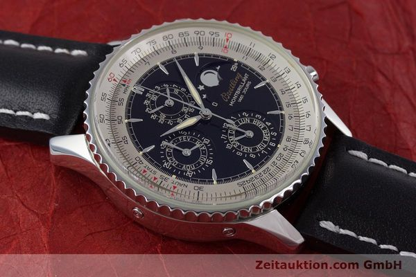 Used luxury watch Breitling Montbrillant chronograph steel automatic Kal. B19 ETA 2892-2 Ref. A19030  | 160432 14