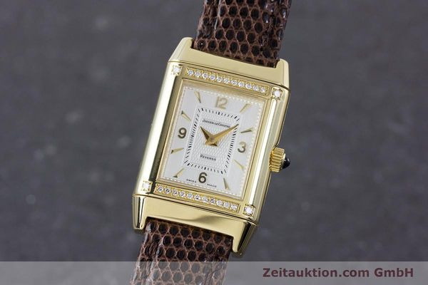 JAEGER LE COULTRE REVERSO 18 CT GOLD MANUAL WINDING KAL. 846/1 LP: 15900EUR [160434]