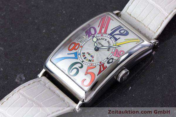 Used luxury watch Franck Muller Color Dreams steel automatic Kal. 2800V Ref. 1200SC  | 160439 01