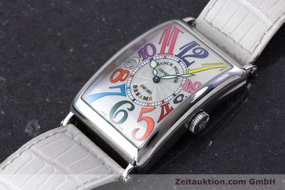 FRANCK MULLER COLOR DREAMS STEEL AUTOMATIC KAL. 2800V LP: 12000EUR [160439]