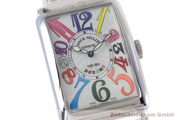 Used luxury watch Franck Muller Color Dreams steel automatic Kal. 2800V Ref. 1200SC  | 160439 02