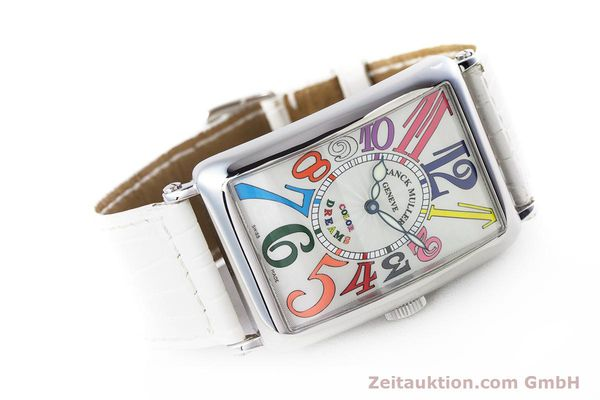 Used luxury watch Franck Muller Color Dreams steel automatic Kal. 2800V Ref. 1200SC  | 160439 03