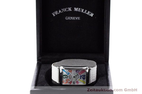 Used luxury watch Franck Muller Color Dreams steel automatic Kal. 2800V Ref. 1200SC  | 160439 07