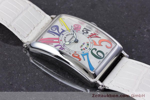 Used luxury watch Franck Muller Color Dreams steel automatic Kal. 2800V Ref. 1200SC  | 160439 15