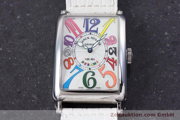 Used luxury watch Franck Muller Color Dreams steel automatic Kal. 2800V Ref. 1200SC  | 160439 16