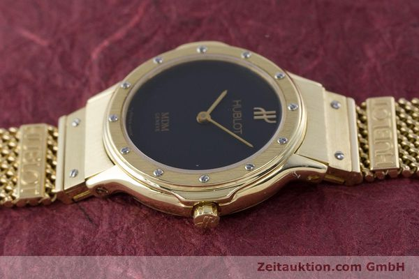 Used luxury watch Hublot MDM 18 ct gold quartz Kal. ETA 976.001 Ref. 1280.100.3  | 160440 05