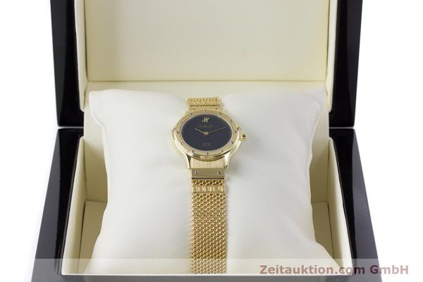 Used luxury watch Hublot MDM 18 ct gold quartz Kal. ETA 976.001 Ref. 1280.100.3  | 160440 07