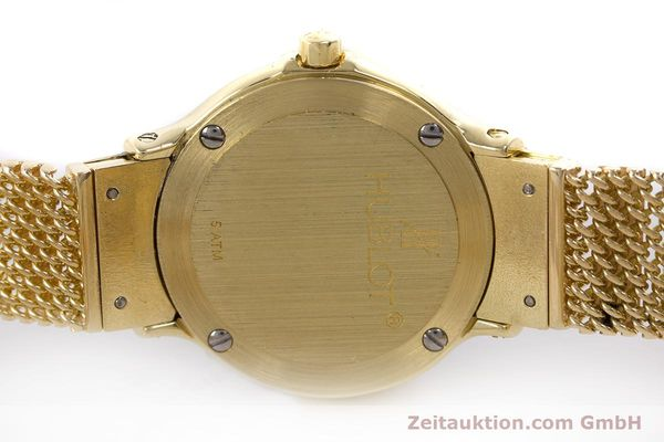 Used luxury watch Hublot MDM 18 ct gold quartz Kal. ETA 976.001 Ref. 1280.100.3  | 160440 09
