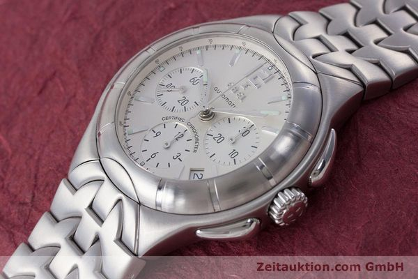 Used luxury watch Ebel Type E chronograph steel automatic Kal. 137 Ref. 9137C51  | 160445 01