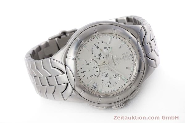 Used luxury watch Ebel Type E chronograph steel automatic Kal. 137 Ref. 9137C51  | 160445 03