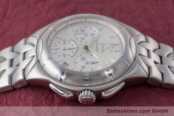 Used luxury watch Ebel Type E chronograph steel automatic Kal. 137 Ref. 9137C51  | 160445 05