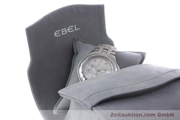 Used luxury watch Ebel Type E chronograph steel automatic Kal. 137 Ref. 9137C51  | 160445 07