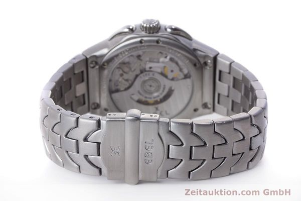 Used luxury watch Ebel Type E chronograph steel automatic Kal. 137 Ref. 9137C51  | 160445 12