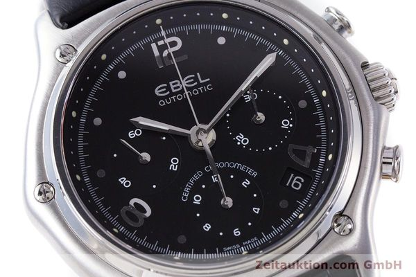 Used luxury watch Ebel 1911 chronograph steel automatic Kal. 137 Ref. 9137240  | 160446 02