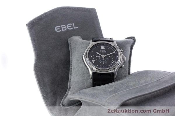 Used luxury watch Ebel 1911 chronograph steel automatic Kal. 137 Ref. 9137240  | 160446 07