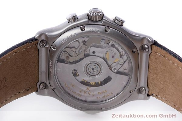 Used luxury watch Ebel 1911 chronograph steel automatic Kal. 137 Ref. 9137240  | 160446 09