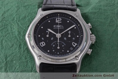 EBEL 1911 CHRONOGRAPH STEEL AUTOMATIC KAL. 137 [160446]