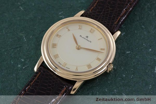 Used luxury watch Blancpain Villeret 18 ct red gold manual winding Kal. 21  | 160461 01