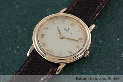 BLANCPAIN VILLERET 18 CT RED GOLD MANUAL WINDING KAL. 21 LP: 8200EUR [160461]