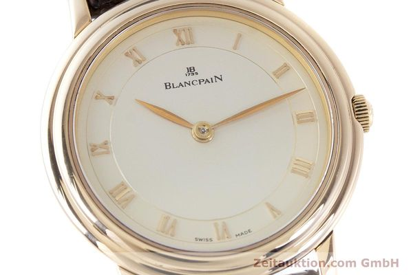 Used luxury watch Blancpain Villeret 18 ct red gold manual winding Kal. 21  | 160461 02