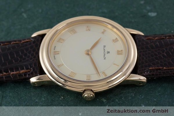 Used luxury watch Blancpain Villeret 18 ct red gold manual winding Kal. 21  | 160461 05