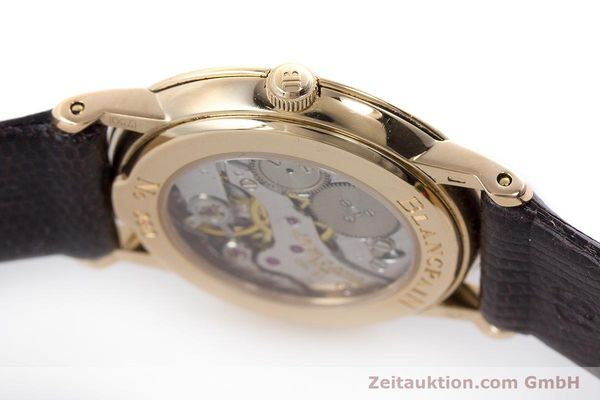 Used luxury watch Blancpain Villeret 18 ct red gold manual winding Kal. 21  | 160461 08