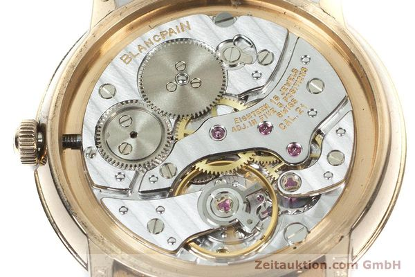 Used luxury watch Blancpain Villeret 18 ct red gold manual winding Kal. 21  | 160461 10