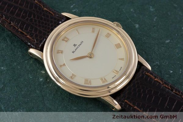 Used luxury watch Blancpain Villeret 18 ct red gold manual winding Kal. 21  | 160461 13