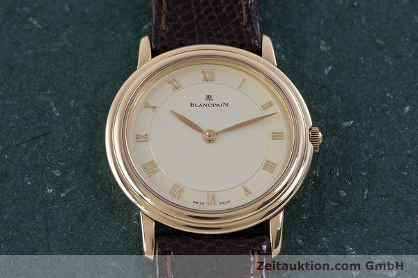 Used luxury watch Blancpain Villeret 18 ct red gold manual winding Kal. 21  | 160461 14