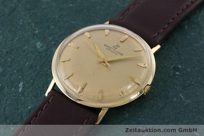 BREITLING 18 CT GOLD MANUAL WINDING KAL. FELSA 4010 VINTAGE [160466]