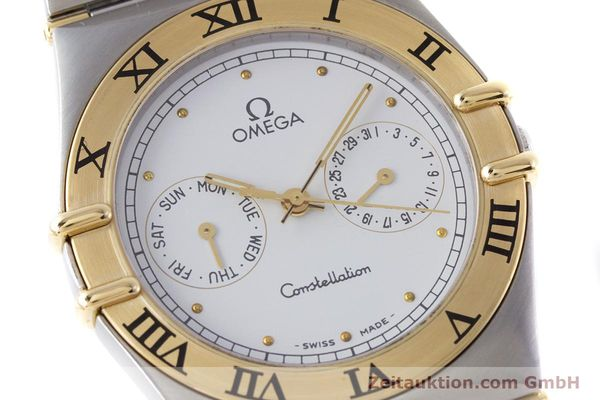 Used luxury watch Omega Constellation steel / gold quartz Kal. 1044 ETA 255.471  | 160467 02
