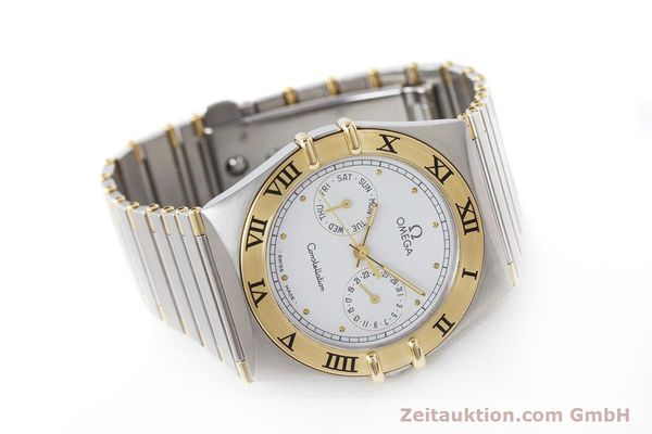 Used luxury watch Omega Constellation steel / gold quartz Kal. 1044 ETA 255.471  | 160467 03