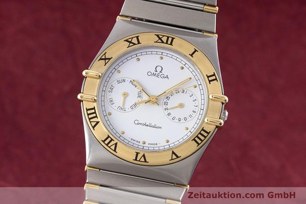 Used luxury watch Omega Constellation steel / gold quartz Kal. 1044 ETA 255.471  | 160467 04