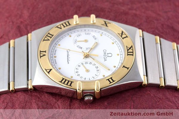Used luxury watch Omega Constellation steel / gold quartz Kal. 1044 ETA 255.471  | 160467 05