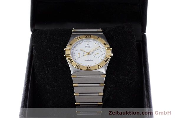 Used luxury watch Omega Constellation steel / gold quartz Kal. 1044 ETA 255.471  | 160467 07