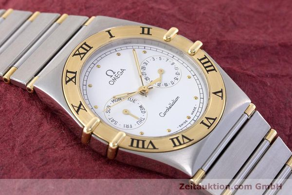 Used luxury watch Omega Constellation steel / gold quartz Kal. 1044 ETA 255.471  | 160467 12
