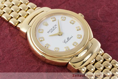 ROLEX CELLINI 18 CT GOLD QUARTZ KAL. 6620 LP: 13350EUR [160470]
