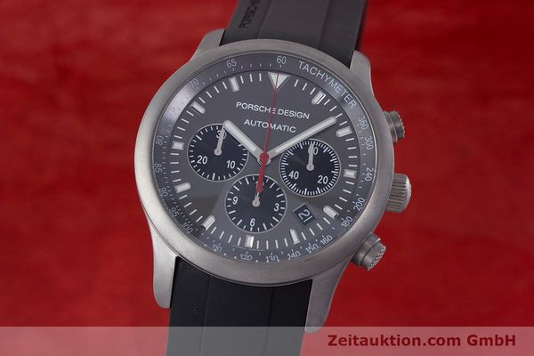PORSCHE DESIGN DASHBORD CHRONOGRAPHE TITANE AUTOMATIQUE KAL. ETA 2894-2 LP: 4300EUR [160473]
