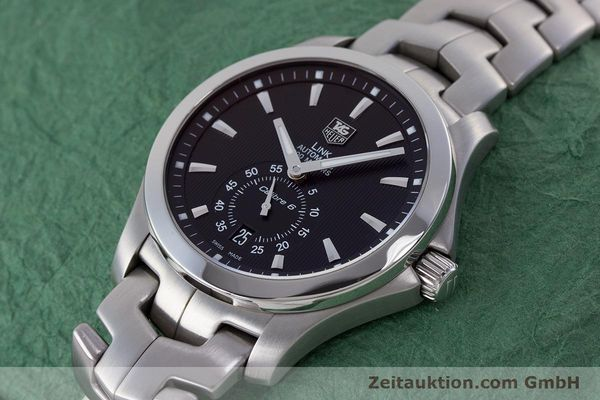 Used luxury watch Tag Heuer Link steel automatic Kal. 6 Ref. WJF211A  | 160474 01