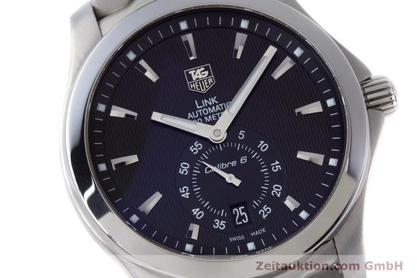 Used luxury watch Tag Heuer Link steel automatic Kal. 6 Ref. WJF211A  | 160474 02