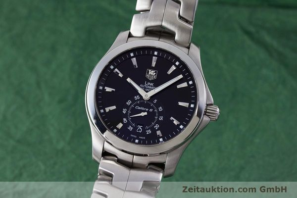 Used luxury watch Tag Heuer Link steel automatic Kal. 6 Ref. WJF211A  | 160474 04