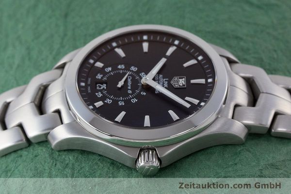 Used luxury watch Tag Heuer Link steel automatic Kal. 6 Ref. WJF211A  | 160474 05