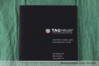 TAG HEUER LINK STEEL AUTOMATIC KAL. 6 LP: 2950EUR [160474]